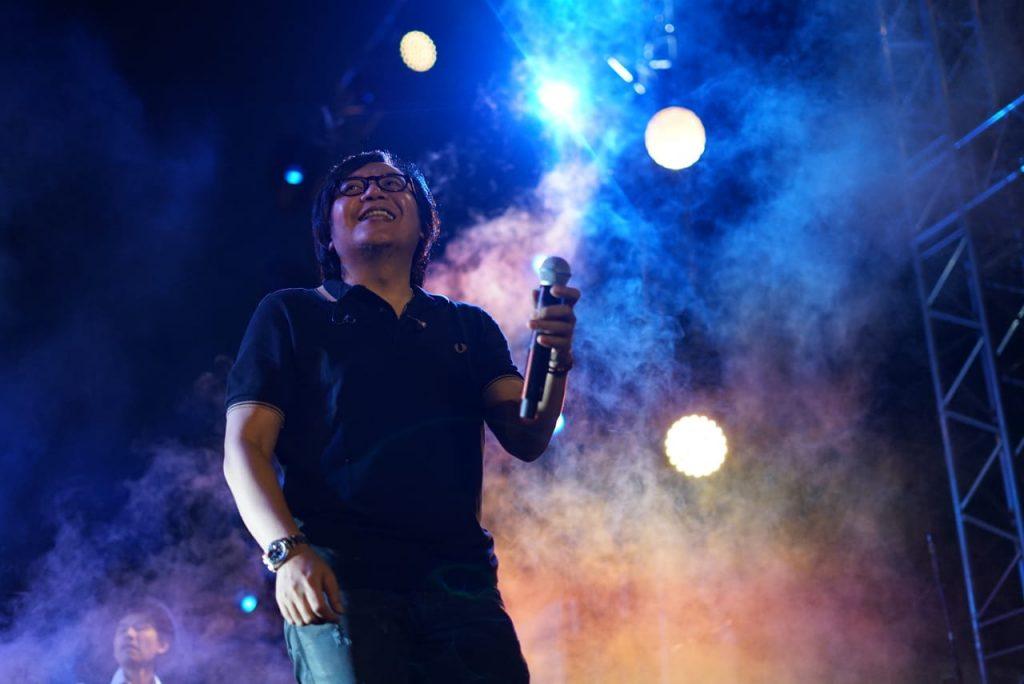 Ari Lasso di Panggung Prambanan Jazz 2019 | Photografer Naufal Ilham