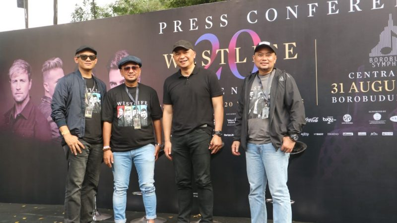 "WESTLIFE ""The Twenty Tour"" Borobudur Symphony"