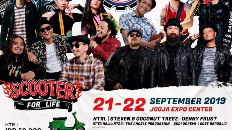 Indonesia Scooter Festival (ISF) Datang Lagi, Ini Tanggal dan Programnya!