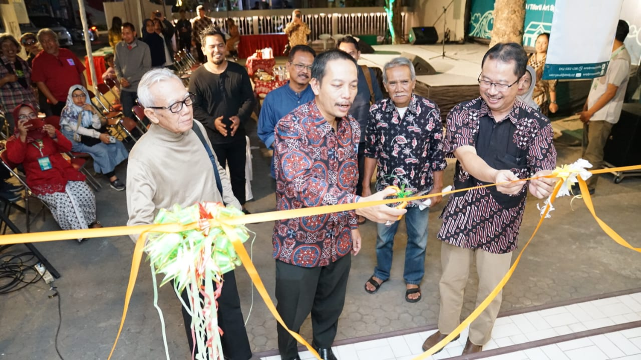 Hadirkan Seniman Malaysia, Pameran Maket Jogja Street Sculpture Project (JSSP) 2019 Resmi Dibuka