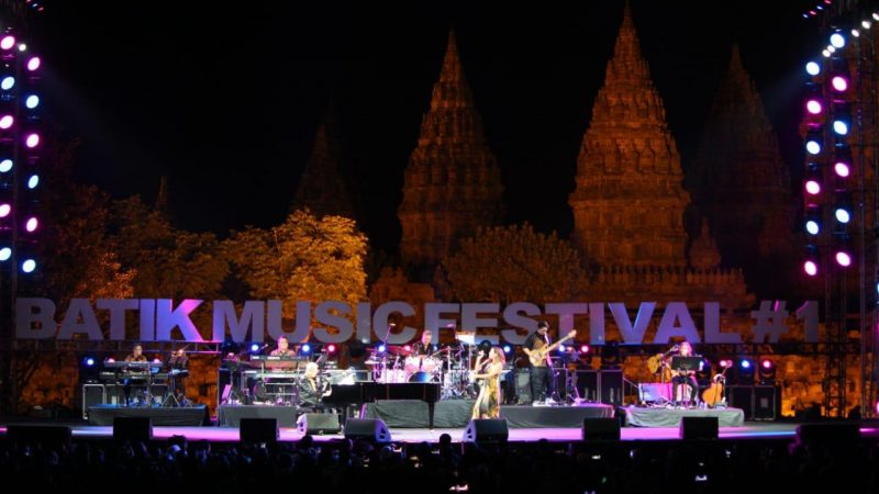 Sukses, Rio Febrian Berharap Batik Music Festival Digelar Setiap Tahun