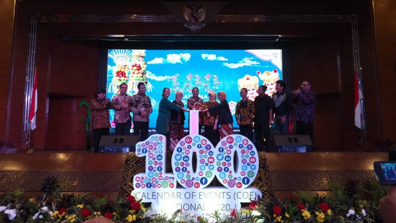 Menpar Arief Yahya Launching Calendar Of Events (COE) 2020