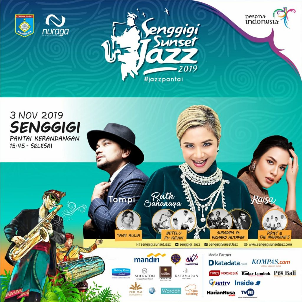 Senggigi Sunset Jazz 2019