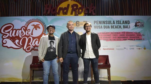 Tiket Presale Sunset Bali Music Festival Dijual Pada 26 Oktober