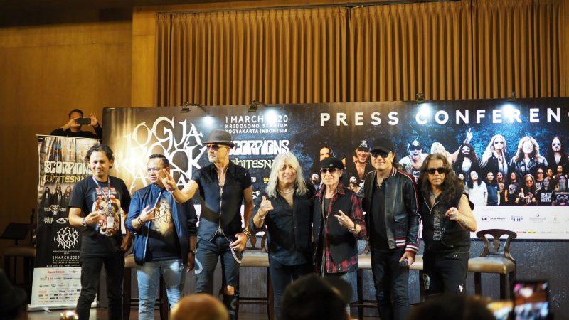 Konser Musik Rock Internasional JogjaROCKarta siap digelar di Stadion Kridosono, Yogyakarta
