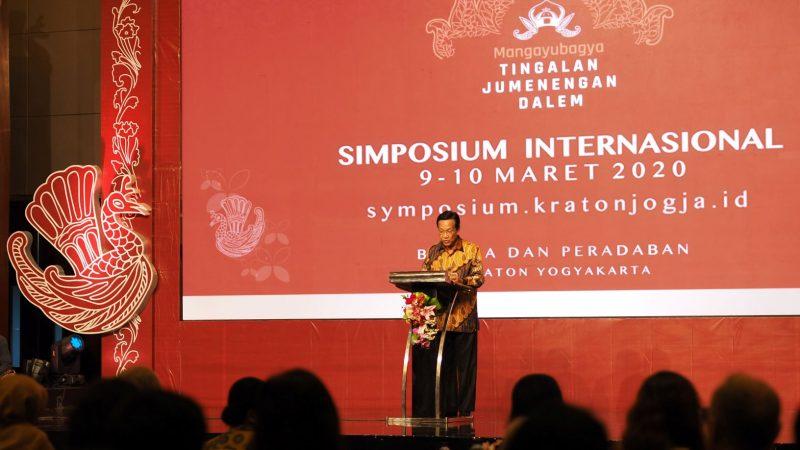 Pembukaan Simposium Internasional Kraton Jogja 2020