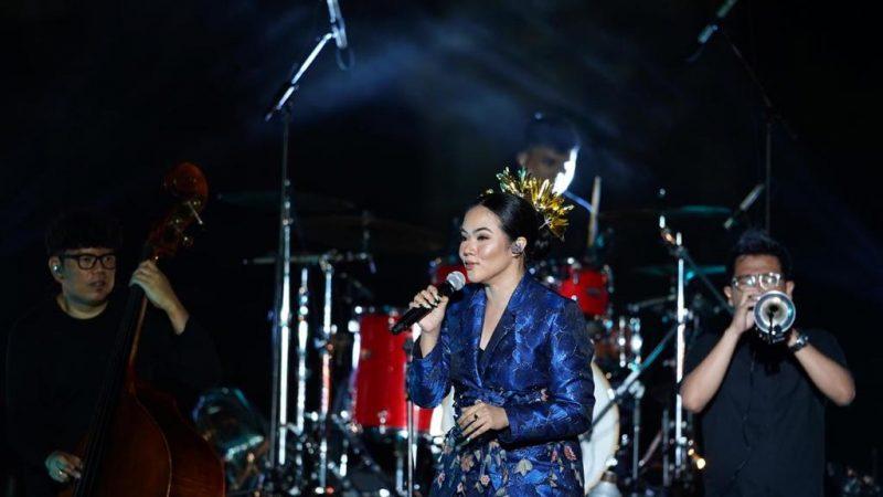 Tampil Prima Yura Yunita Tutup Prambanan Jazz 2020